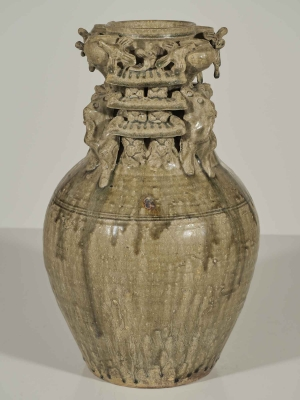 5 Tubes Funerary Urn