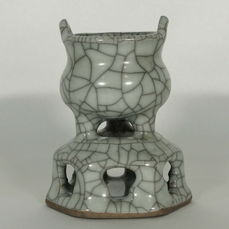 Crackled Small Censer
