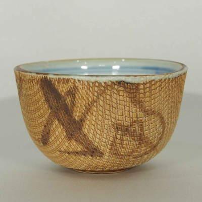 Cup with Wicker Pattern