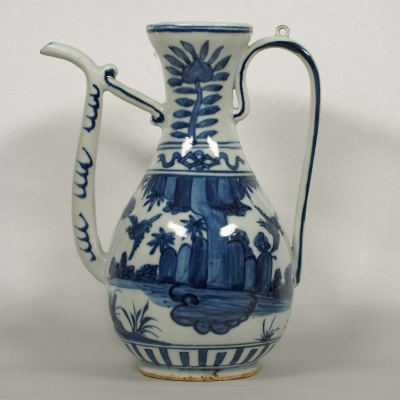 Ewer with Birds Design