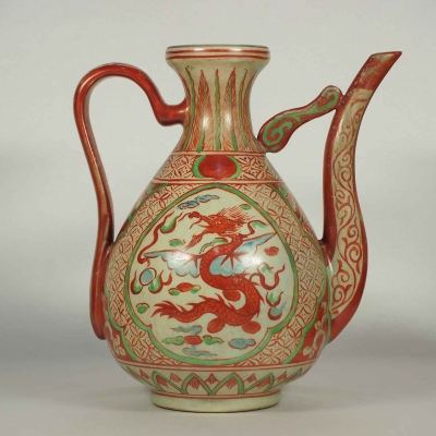 Ewer with Winged Dragon Design