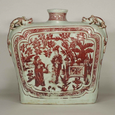 Flask with Jinxiang Ting Scenes Design
