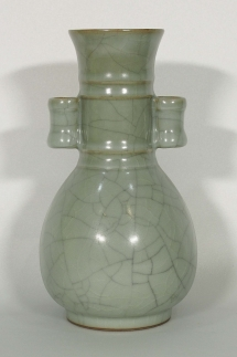 Hu-Form Crackled Vase