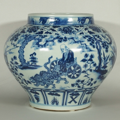 Jar with Guiguzi Scene Design