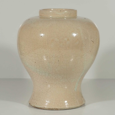 Large Crackled Vase