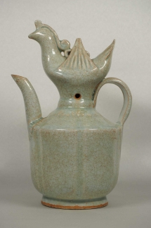 Lobed Ewer with Phoenix Top