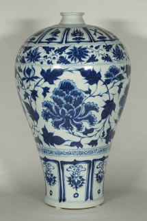 Meiping with Peony Scroll Design